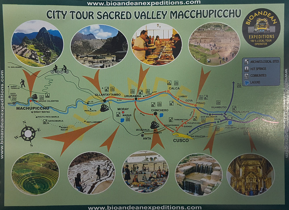 sacred valley map