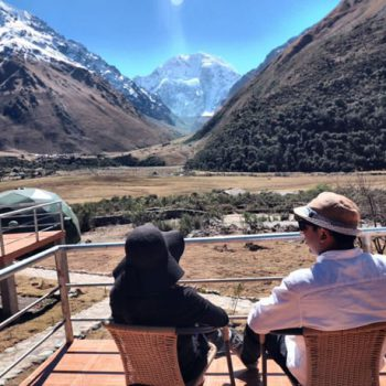 Salkantay to Machupicchu 5d/5n Biking+ Zipling With Luxury Domes